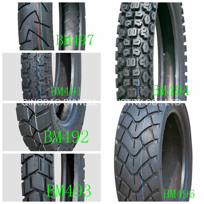 Tvs and Dunlop Designed Motorcycle Tires for Bywell Brand