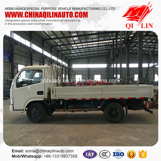 Qilin 4X2 2t Light Cargo Pickup Truck with ABS Braking System