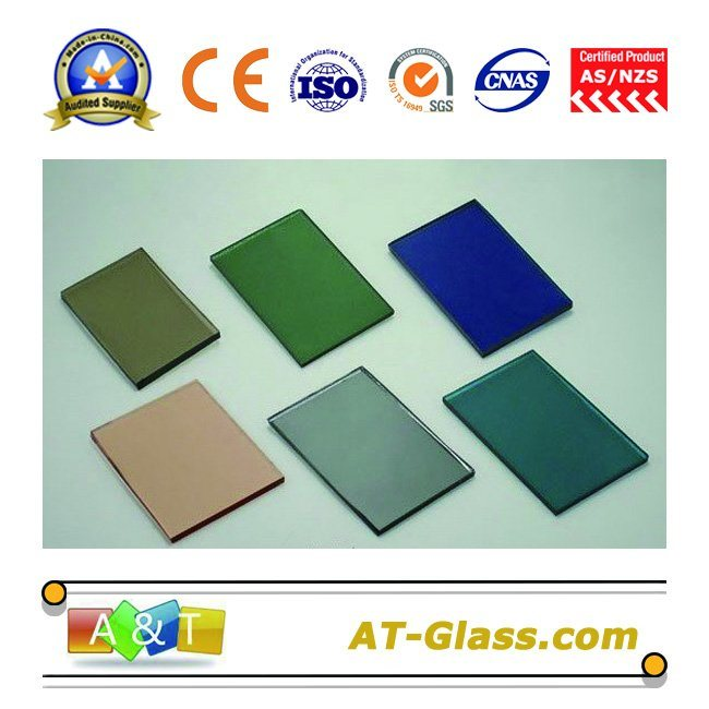 4mm 5mm 6mm Reflective Glass/Tinted Glass/Coated Glass Used for Window, Building, Curtain Wall, etc