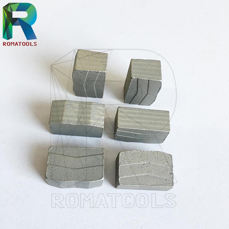 24X8X13mm Diamond Segments for Marble Cutting