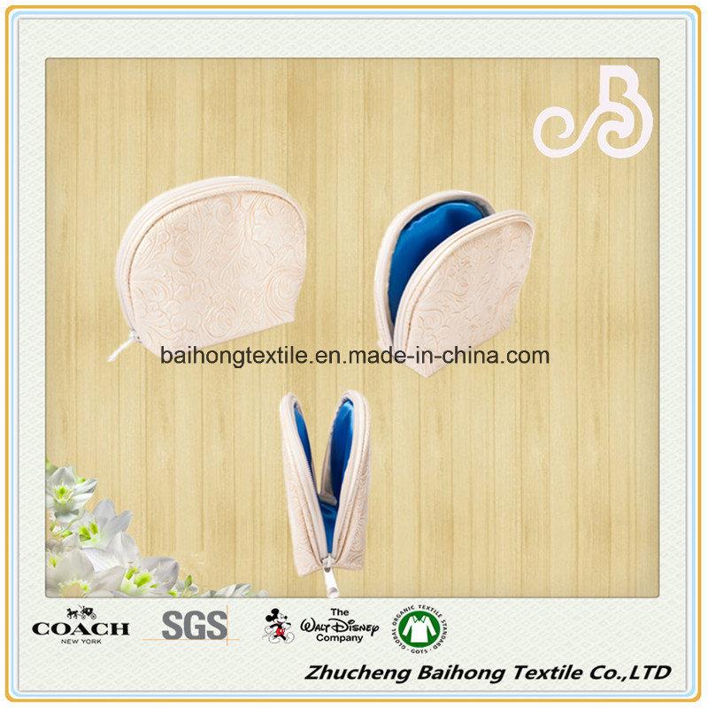 Fashion Waterproof Leather Cosmetic Clutch Bag