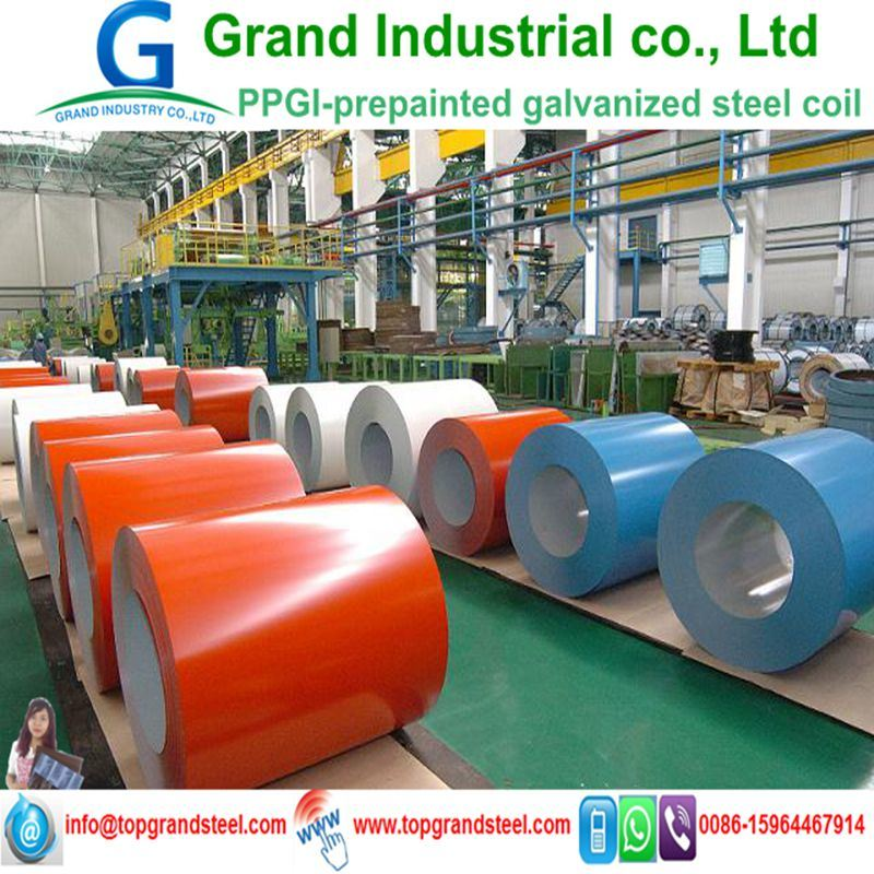 High Quality Prime PPGI Prepainted Galvanized Steel Coil in China