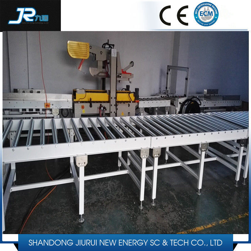 90 Degree Turning Steel Roller Conveyor for Logistics Line