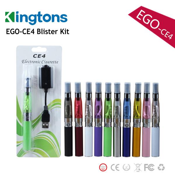 Blister Pack E Cigarette 1100mAh Ce4 EGO K Ecig Factory