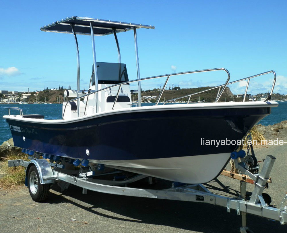 China liya 4 2 small fiberglass boat cheap fishing for Small used fishing boats for sale
