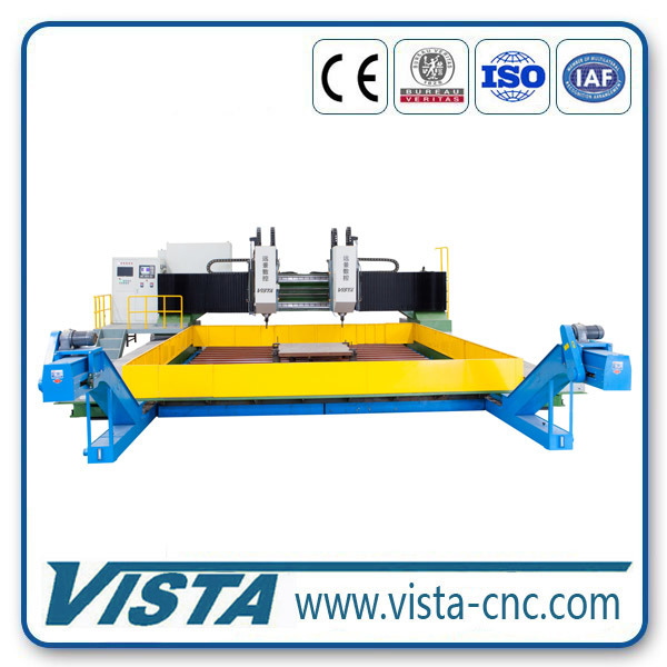 Automatic CNC Machine for Boiler Connection Plate