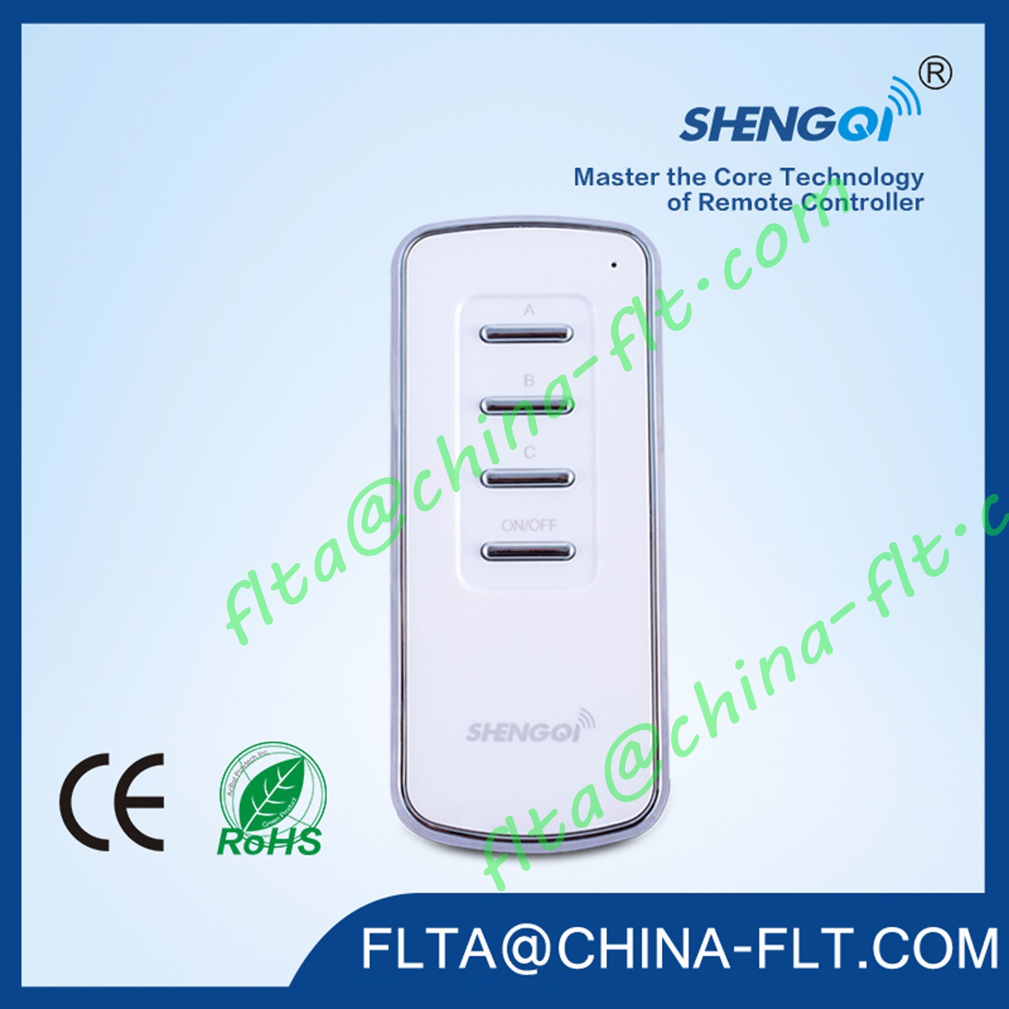 Smart ODM OEM Wireless Lighting Remote 2 or 3 Channel Controller Switch FT-3 with Ce / RoHS