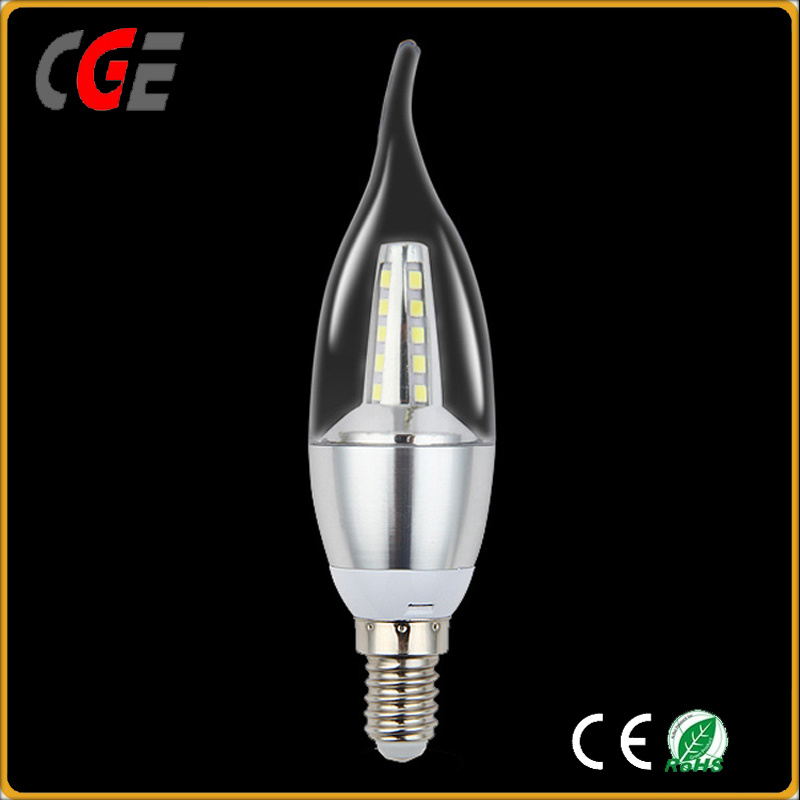 C35 Tail Candle E14 2W LED Filament Bulb