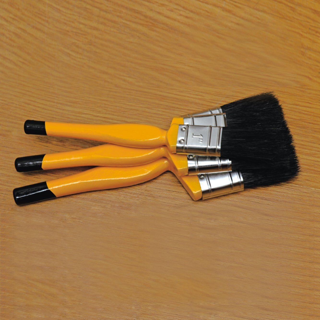"Superior Painting Tools 2"" Paint Brush with Natural Bristles and Wooden Handle"