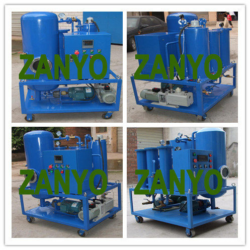 Zyl Lubricating Oil Purifier with The Two Horizontal Evaporators