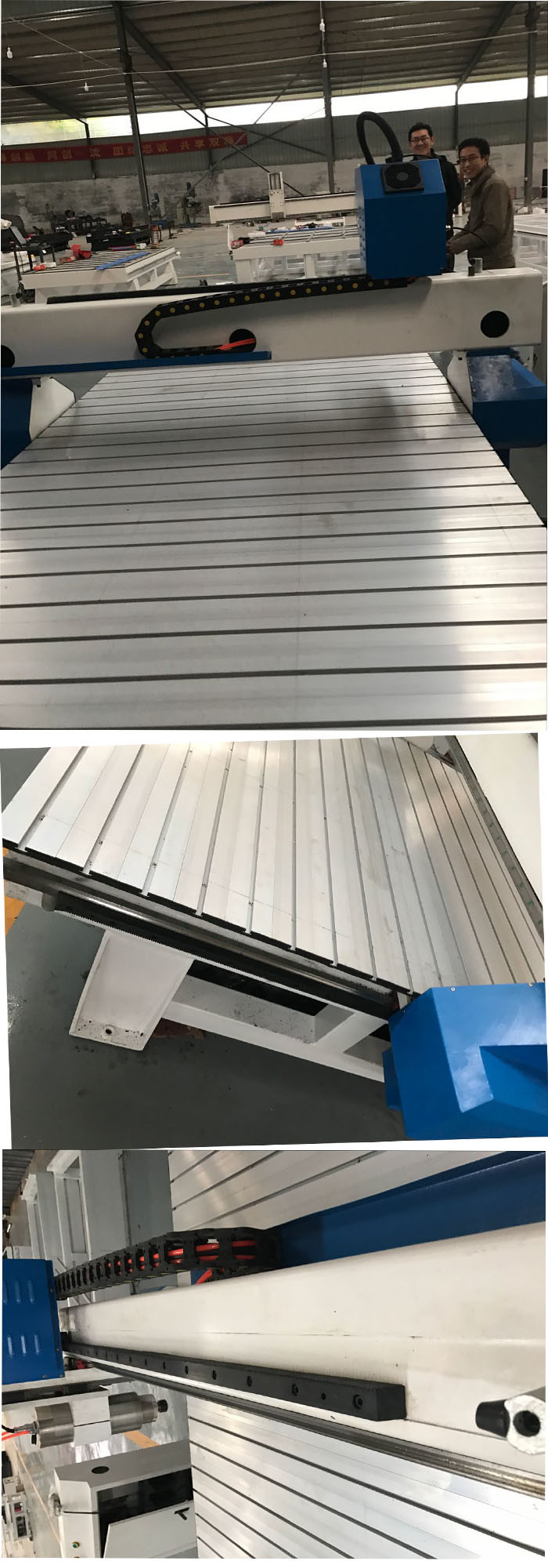 Ck1325 Aluminium Acrylic Wood Cutting Engraving Machine
