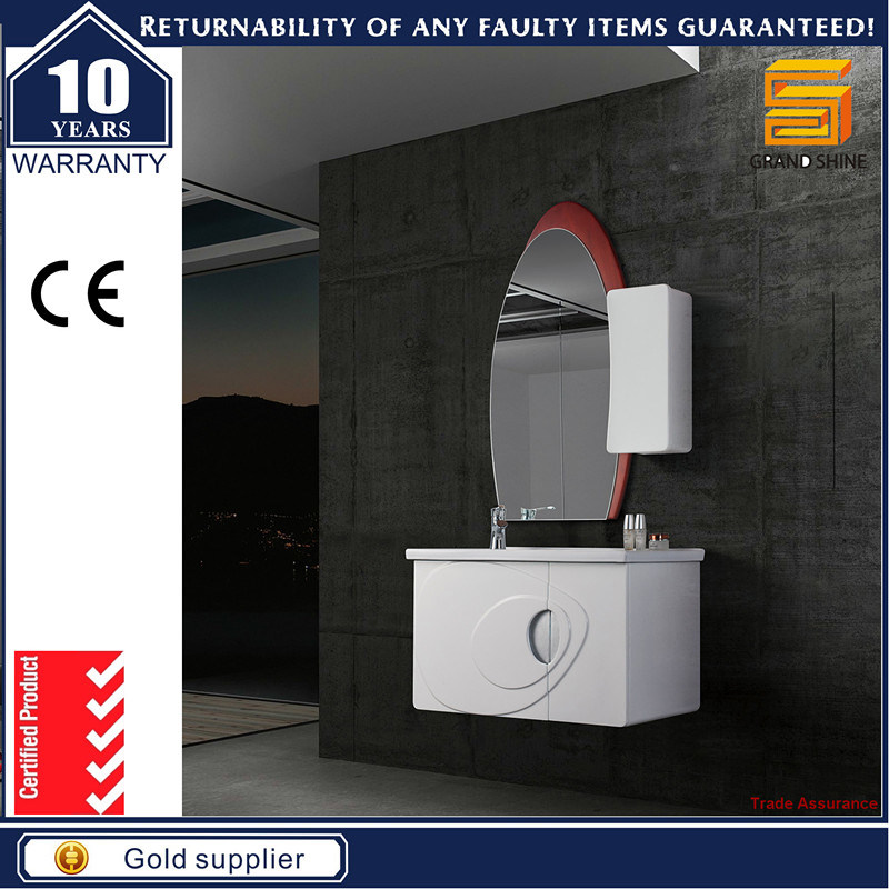 Bathroom Vanity Furniture Sanitary Ware with Side Cabinet