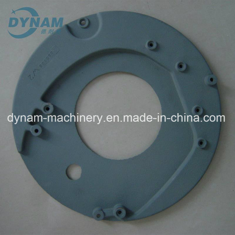 CNC Machining Part Gear Box End Cover Steel Iron Sand Casting