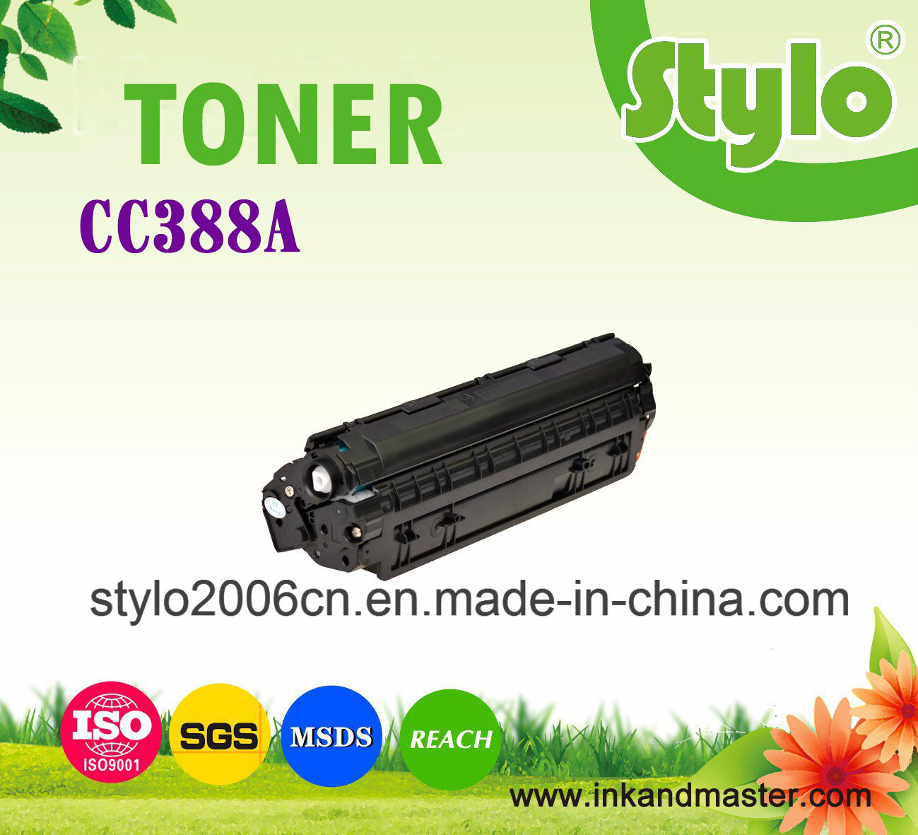 Cc388A (88A) Toner Cartridge for Use HP Laserjet Printer
