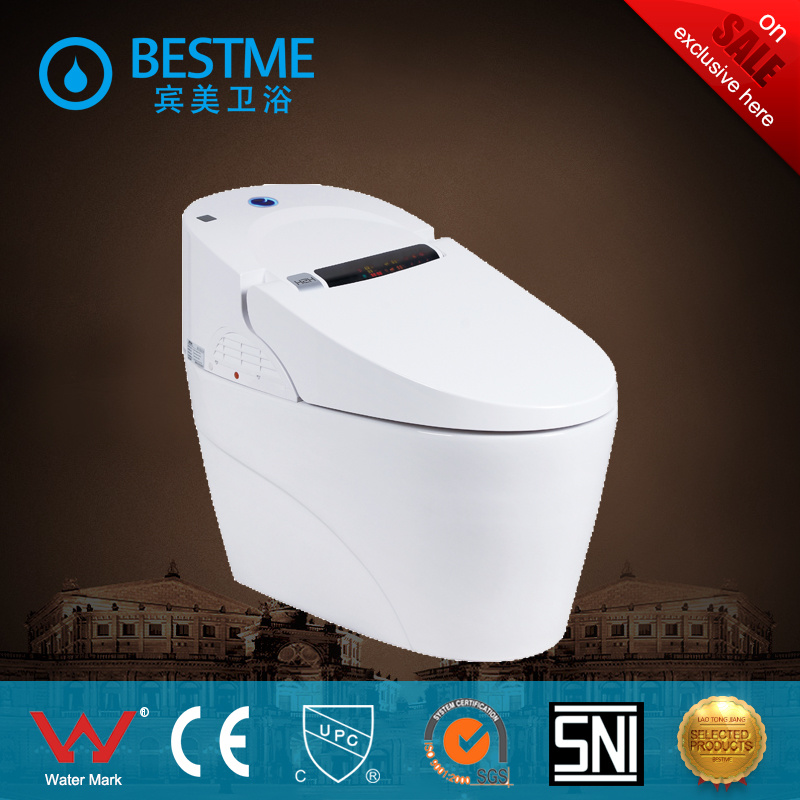 Foshan Manufacturer Automatic Toilet with Smart Comtrol System
