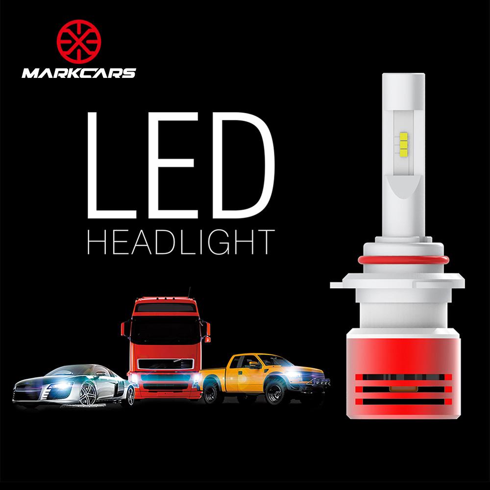 Markcars Wholesale Price 60W Car Light H4 LED Headlight