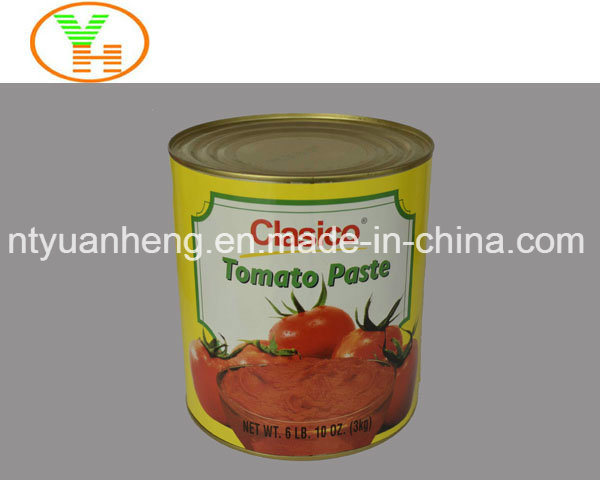 Canned Tomato Paste High Quality OEM Canned Food