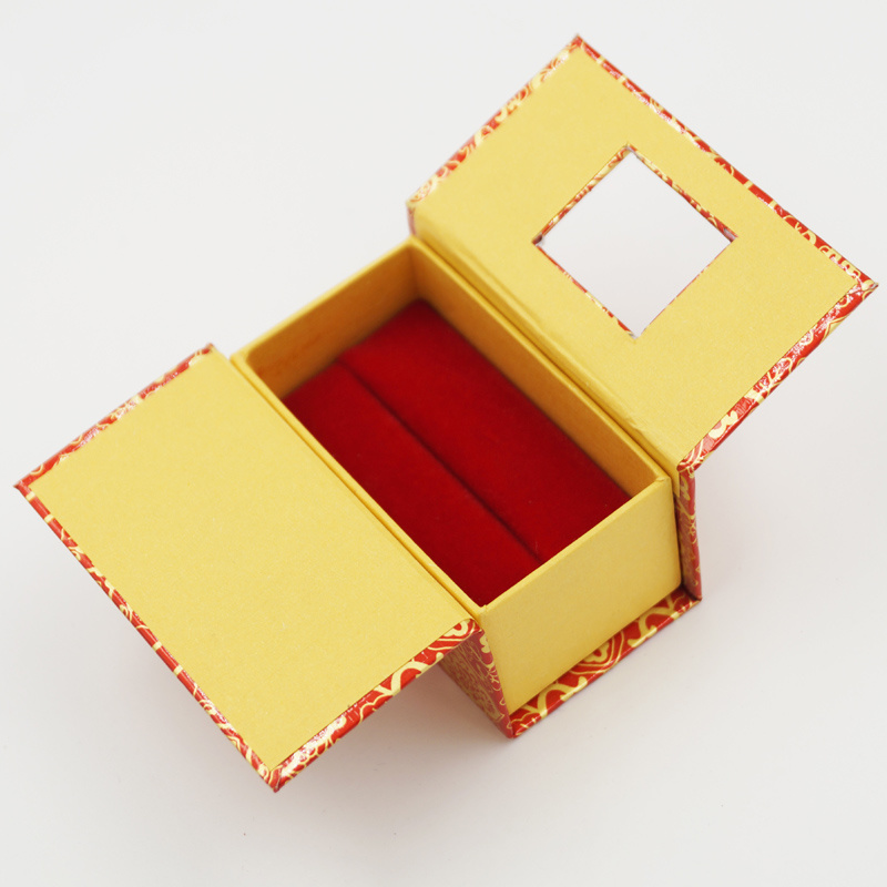 Hot Sale Product 100% Eco-Friendly Customized Jewelry Ring Box (J10-A)