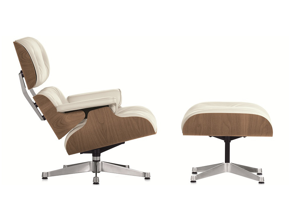 Charles Eames Lounge Chair with Ottoman (9021-B)