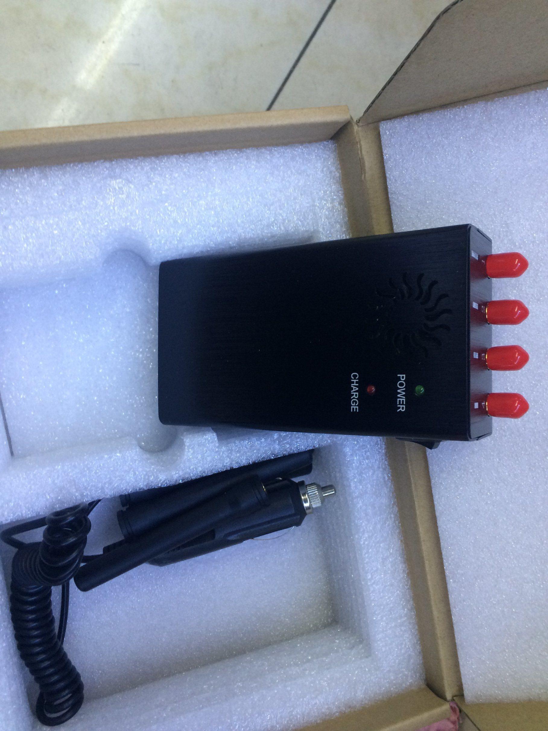High Quality Portable Mobile Phone Jammer GPS Signal Blocker Handheld WiFi Jammer