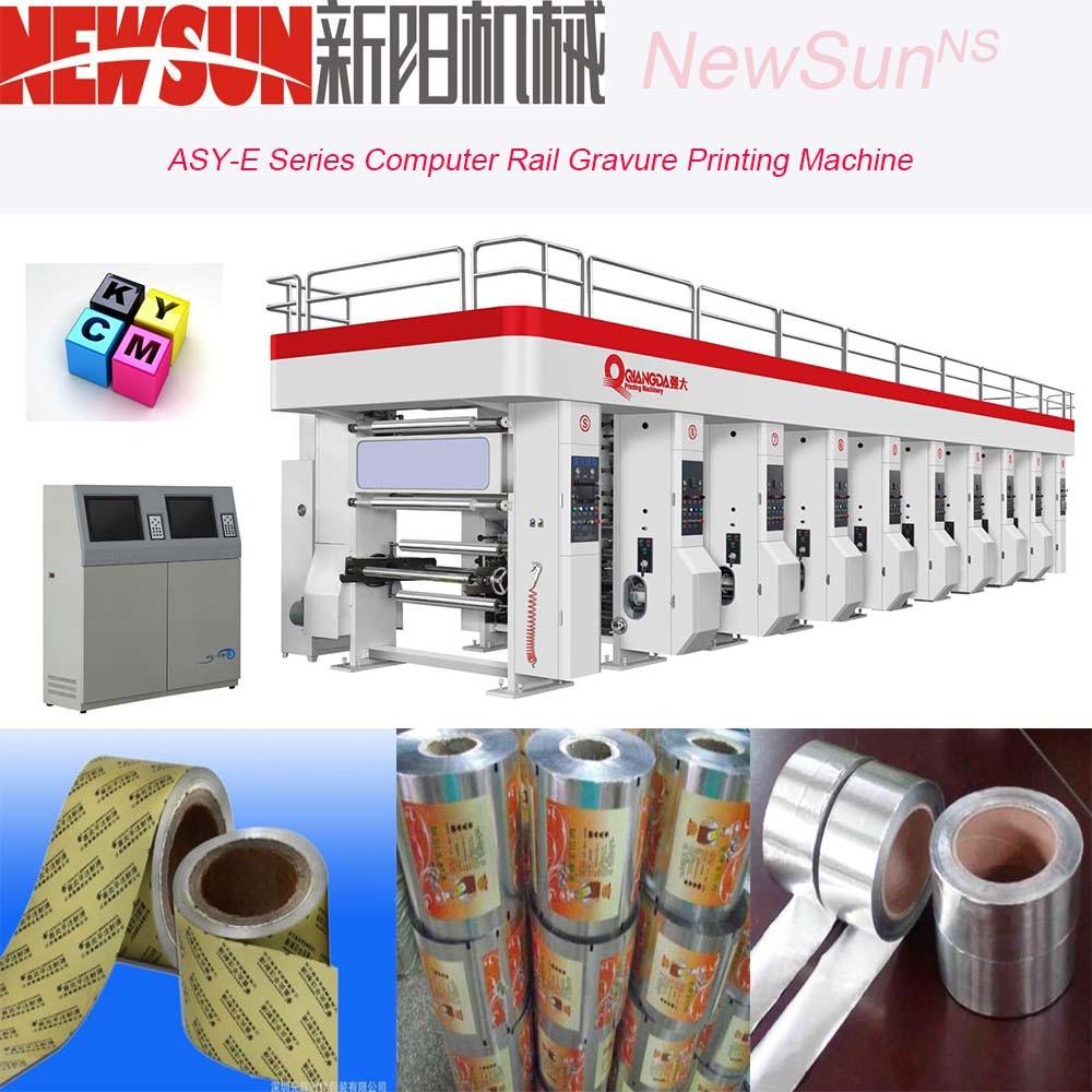 Asy-E Series Computerized Rail PE Gravure Printing Machine