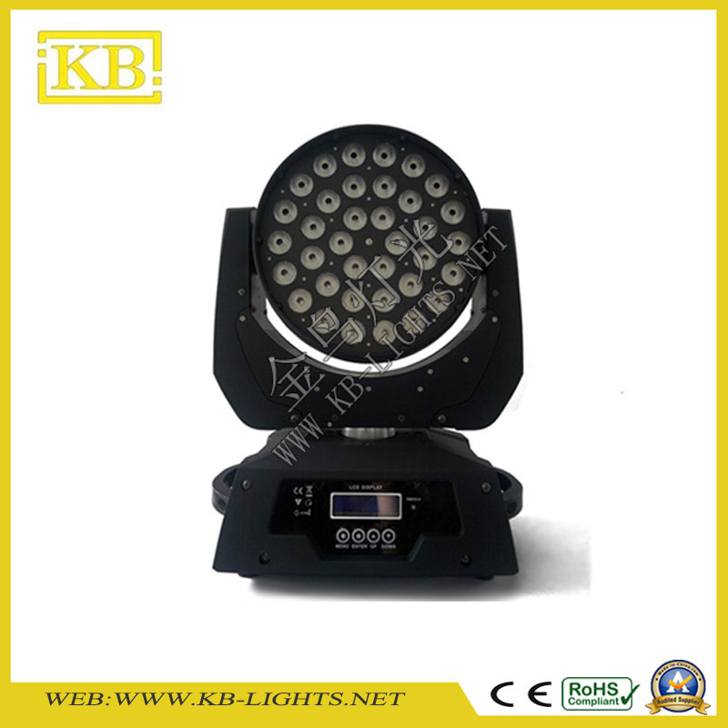 36PCS*10W 4in1 LED Wash Zoom Moving Head Light