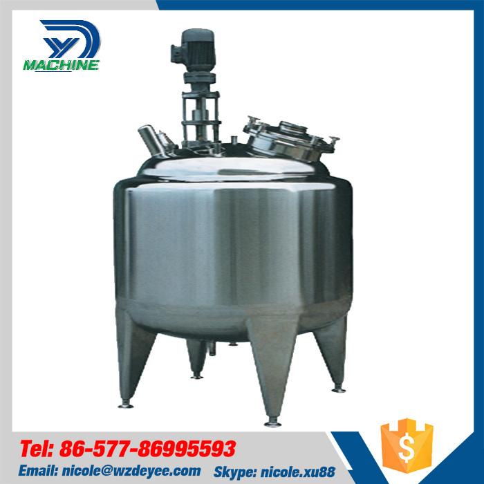 Sanitary Ss304 Water Dairy Beer Cooling Tank