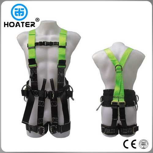 Full Body Safety Harness in Construction Area