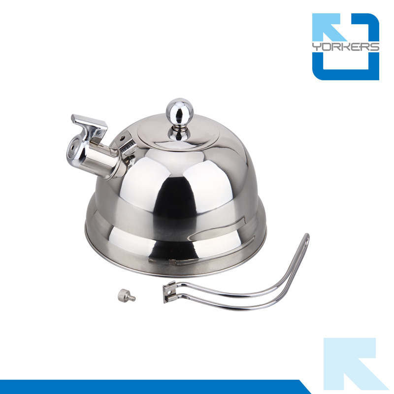 Fashionable 2.5L Stainless Steel Roman Kettle Whistle Kettles