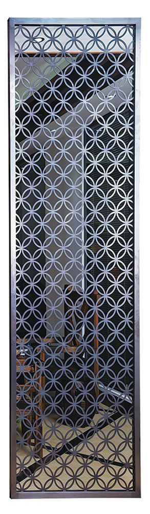 Stainless Steel Decorative Screen Living Room Divider Partition
