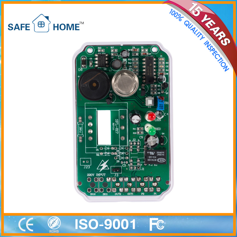 Gas Leak Sensor with Shut off Valve Function Sfl-817