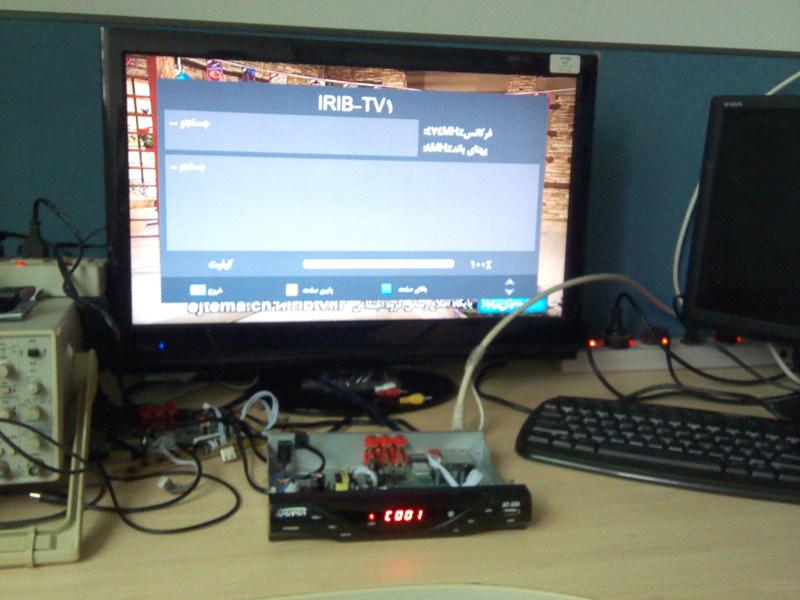 Set Top Box Iran DVB-T2 Digital TV Tuner with IPTV 1080P DVB-T2 IPTV for Arabic Countries