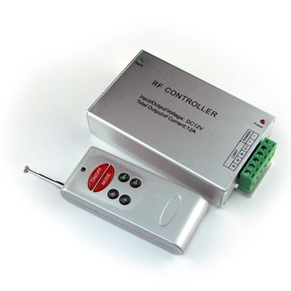 DC12V Aluminium Shell RF 6 Key Universal Remote Control