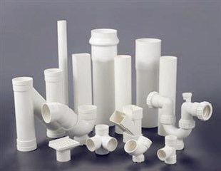 White PVC Pipes and Fittings