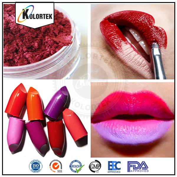 Natural Mica Powder Cosmetic Pearl Colorants in Lipstick