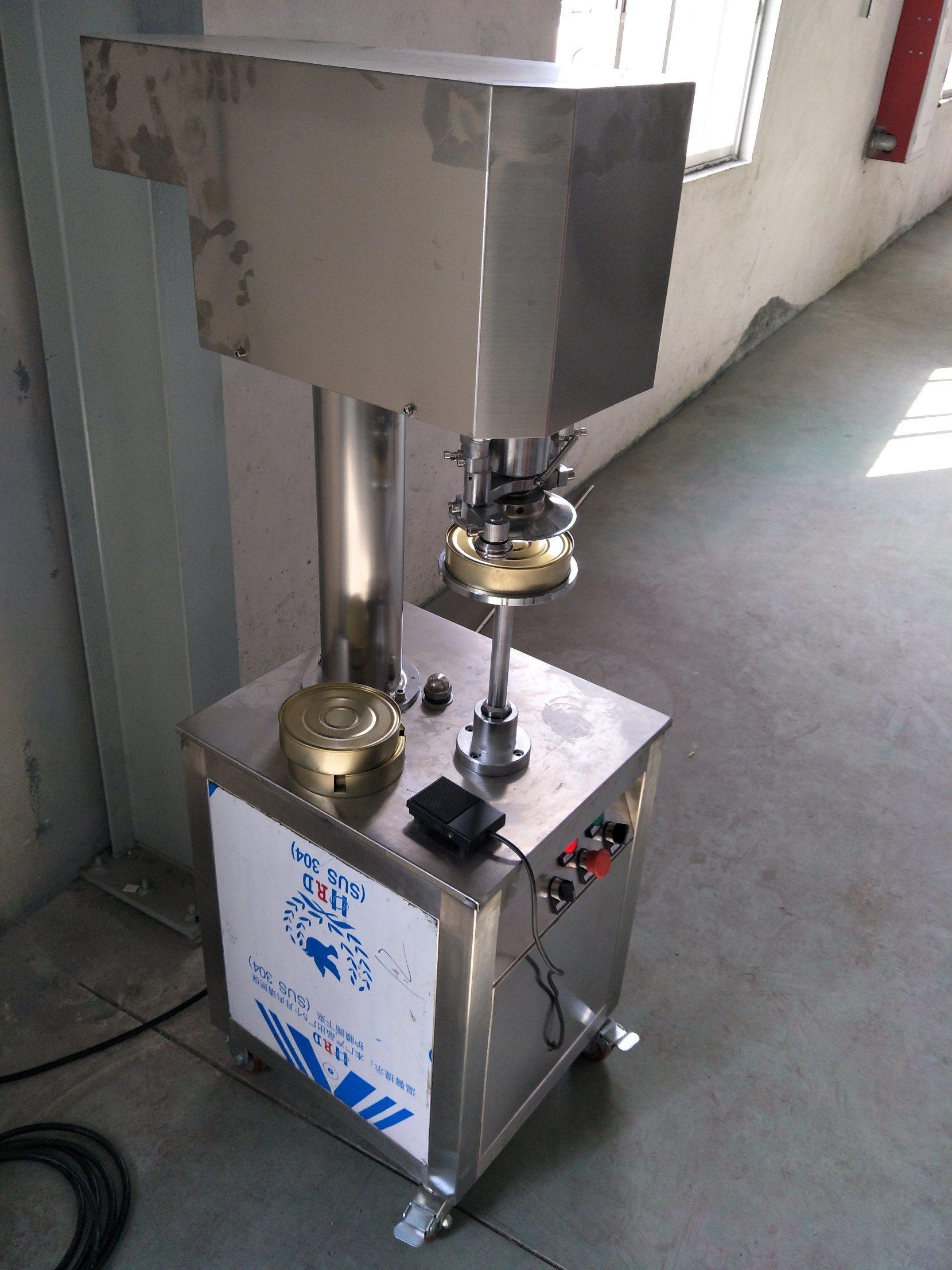 Semi Automatic Can Sealing Machine