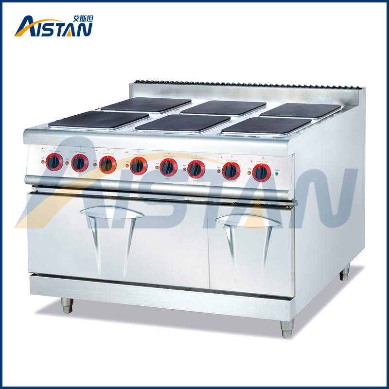Eh897A Electric 6 Hot Plate with Electric Oven (Square)