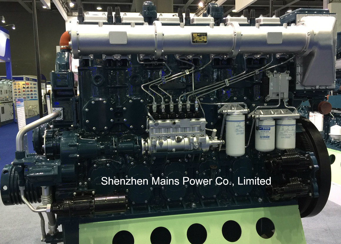 1135HP 1000rpm Germany Technology Yuchai Marine Diesel Engine Inboard Motor