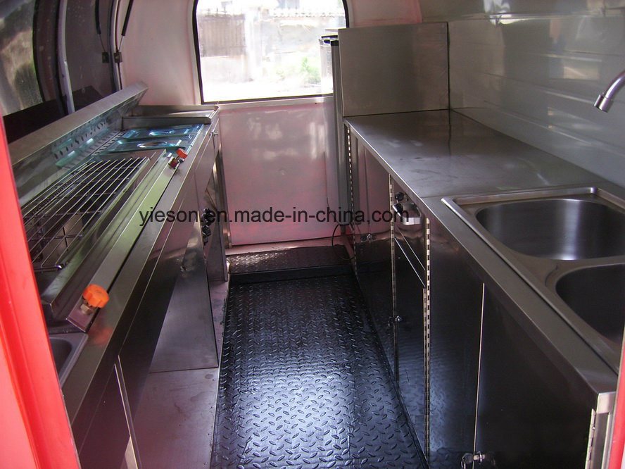 Yieson Made Ys-Fv300 Food Trucks Mobile Food Trailer
