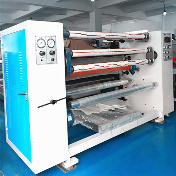 BOPP Transparent Tape Automatic Slitting Rewinder Machine