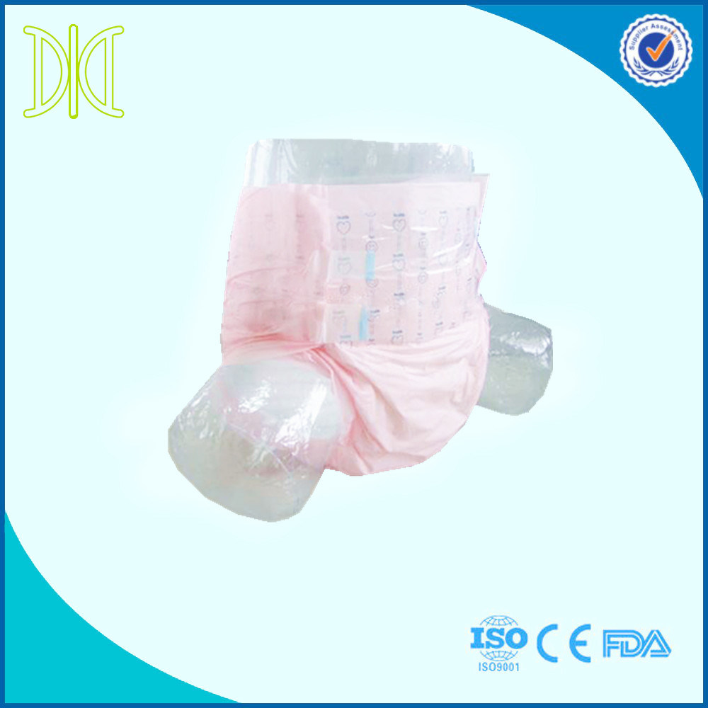 Disposable Adult Diaper with Super Absorption Baby Printed