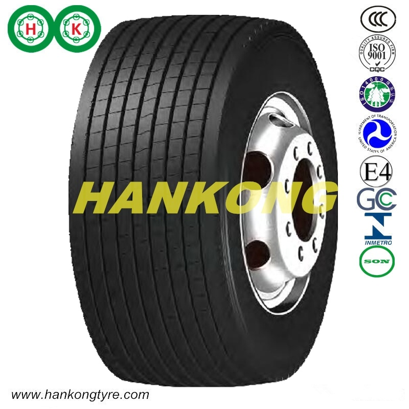 Steel Wheels Big Trailer Tires TBR Tire Radial Truck Tire (385/65R22.5, 435/50R19.5, 445/45R19.5)