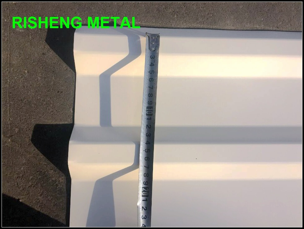 Color Coated Roofing Sheet After Corrugated Width 1060mm