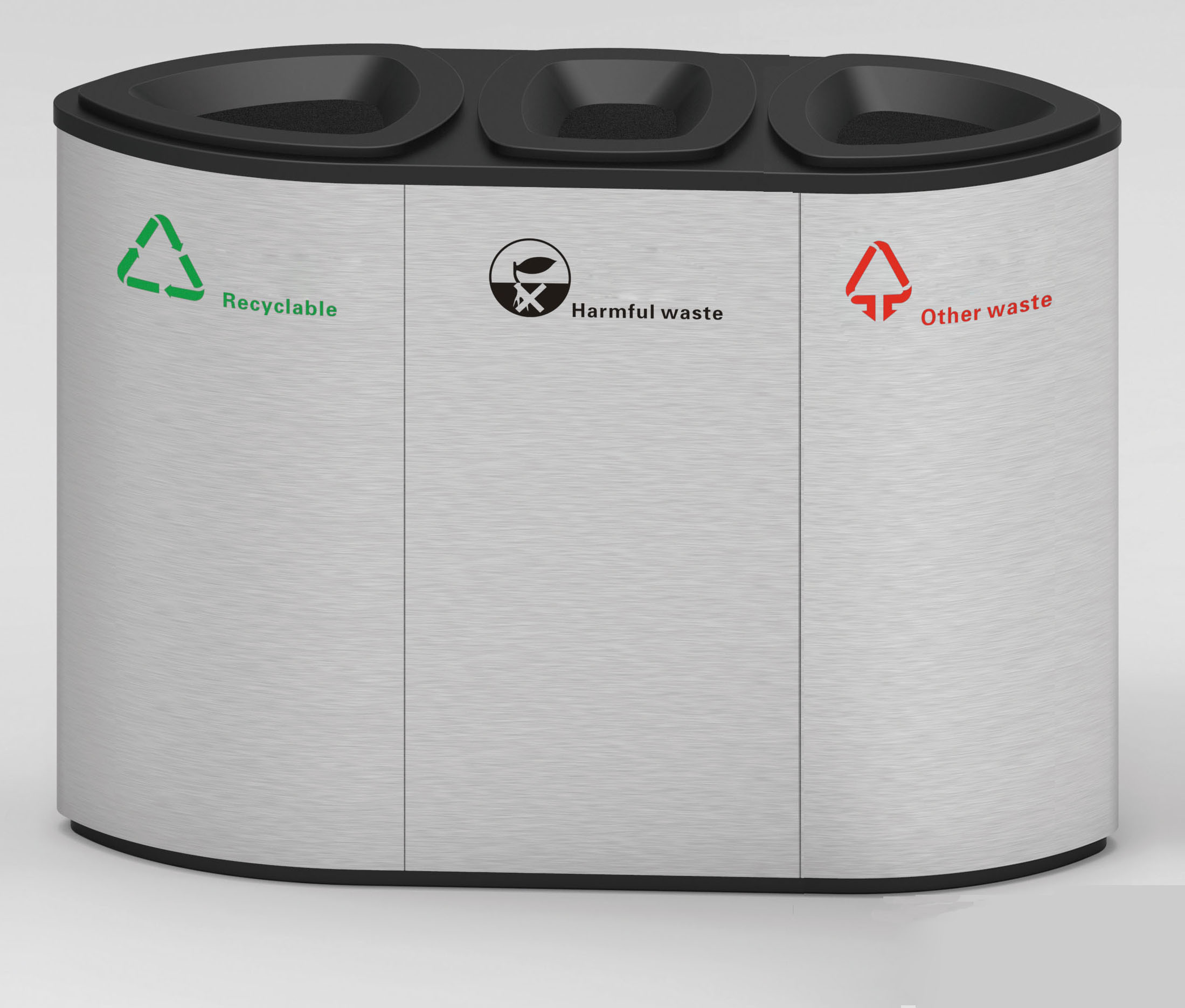 European Style Outdoor Dustbin From Shining Factory (HW-507A)