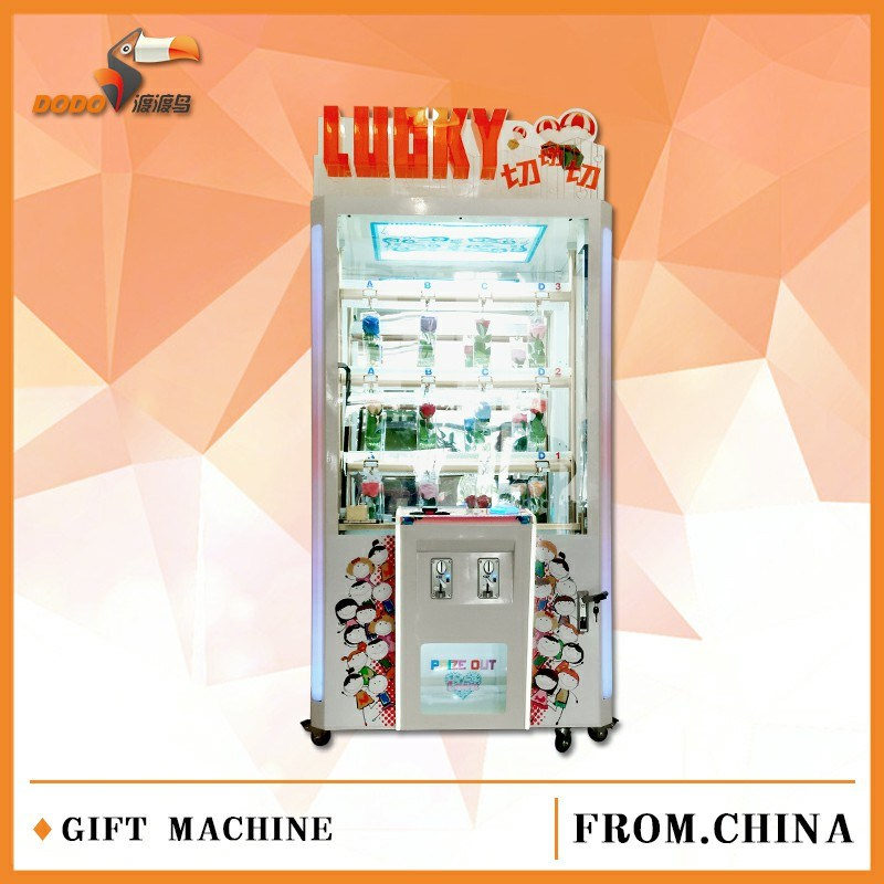 Lucky Cutting Gift Machine Prize Amusement Game Machine Party Equipment