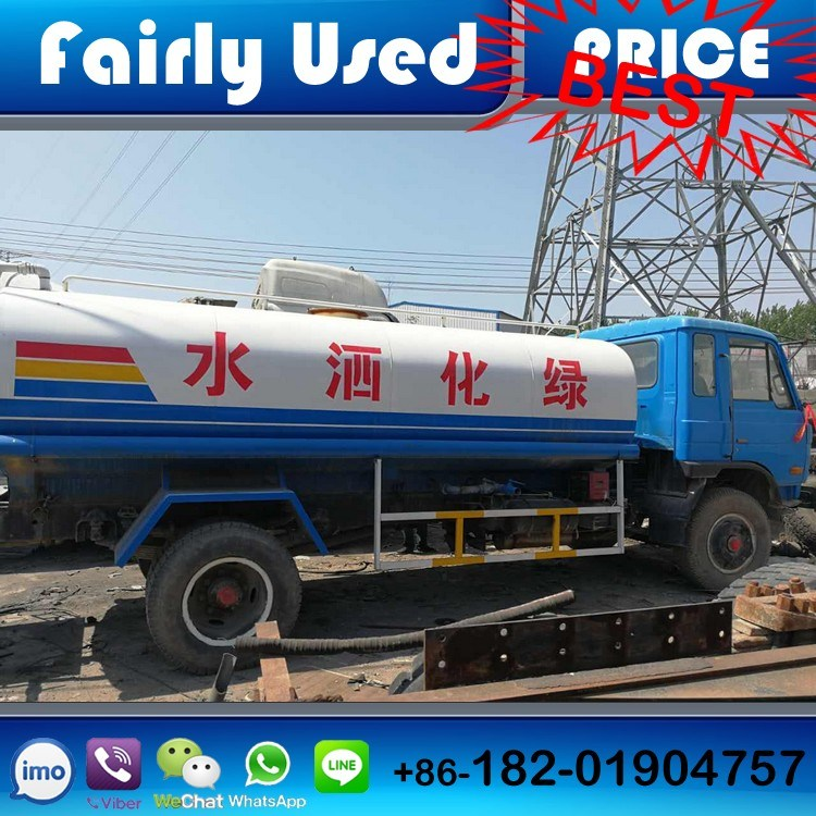 Used 13cmb Dongfeng 4X2 Water Truck of Used Street Sprinkler