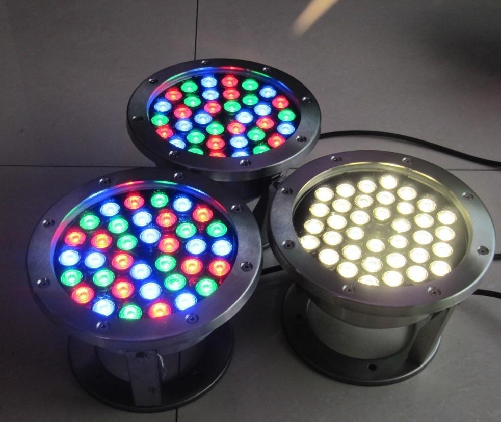 Yaye 18 Best Sell 9W/12W/18W/36W RGB LED Underwater Light/ 36W LED Fountain Light/36W RGB LED Pool Lights with IP68
