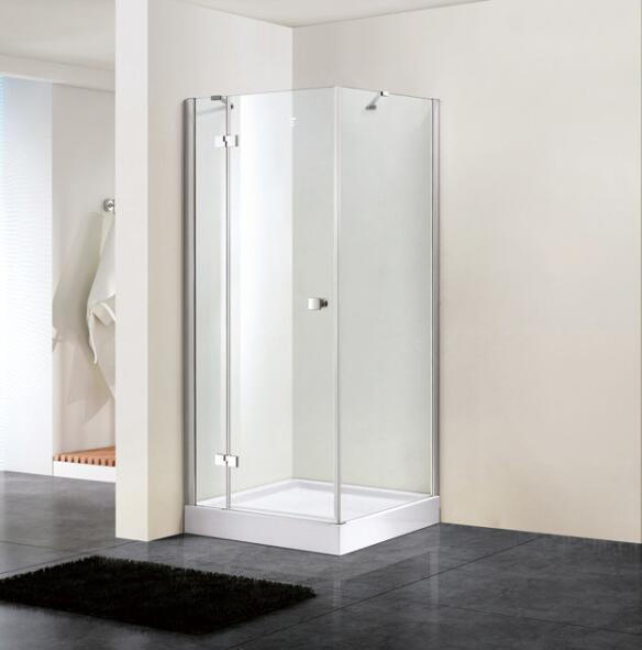 Bathroom 8mm Hinge Door Shower Enclosure with Side Panel (BN-HD8010)