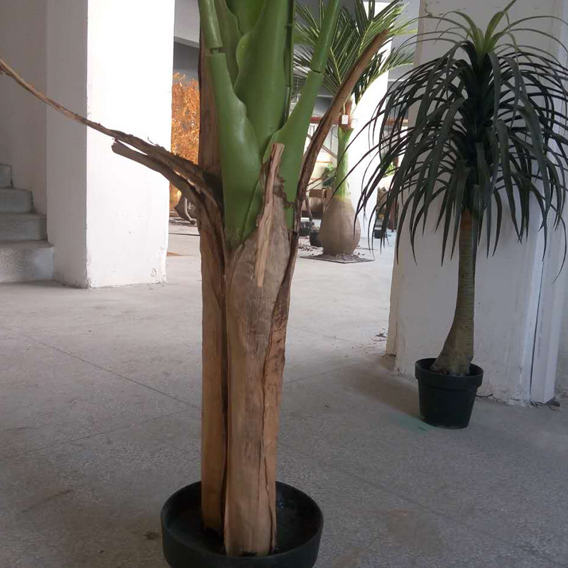 Hot Home Decorative Artificial Plant Banana Tree with 27 Leaves