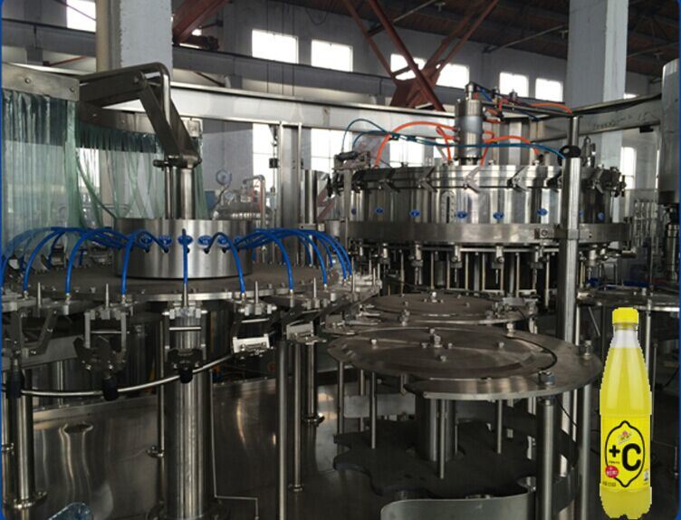SGS China Manufactory Automatic Carbonated Drink Filling Machine